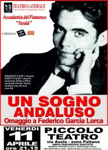 Un sogno andaluso. Omaggio a Federico García Lorca, Padova, Piccolo Teatro, 11 aprile 2014