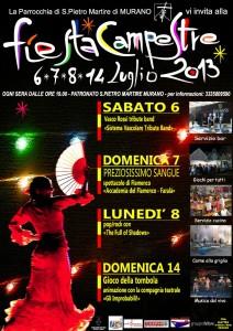Noche flamenca, Murano (Ve), 7 luglio 2013