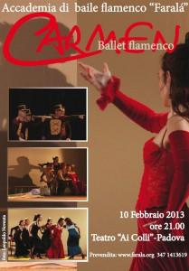 Carmen, Padova, Teatro ai Colli, 10 febbraio 2013