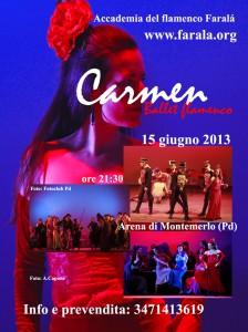 Carmen, Arena di Montemerlo, 15 giugno 2013