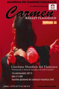Carmen, Vigonza, Teatro Quirino De Giorgio, 16 novembre 2013