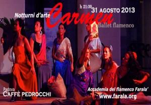 Carmen brevis, Padova, Caffè Pedrocchi, 31 agosto 2013