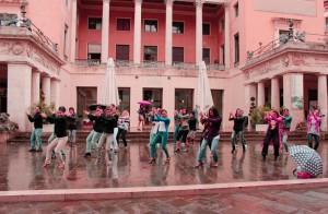 Flashmob, Padova, P.zza Pedrocchi, 29 settembre 2014